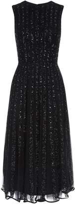 Jovani Embellished Sleeveless Midi Dress