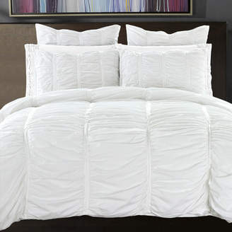 NMK Textiles, INC Ruffled Duvet Cover Set