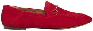 Windsor Smith Dani Crimson Red Suede Loafer