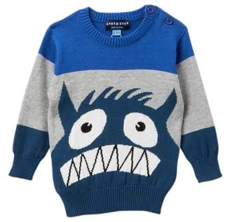 Andy & Evan Intarsia Monster Sweater (Baby Boys)