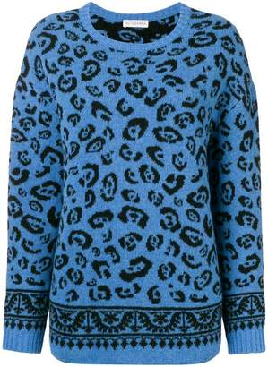 Altuzarra leopard knitted sweater