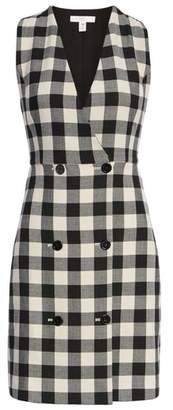 1901 Checkered Pinafore Dress