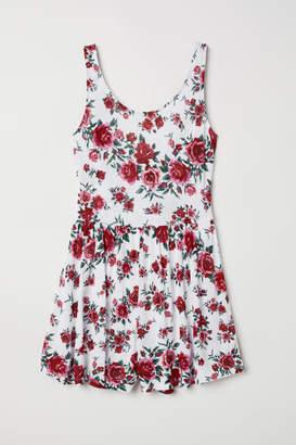 H&M Jersey Jumpsuit - White