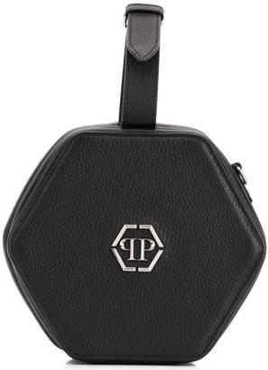 Philipp Plein logo geometric box bag