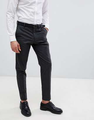 Selected Tapered Suit PANTS In Pinstripe