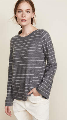 Vince Bell Sleeve Cashmere Pullover