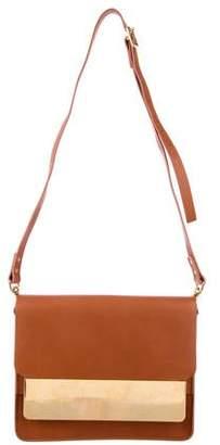 Sophie Hulme Leather Shoulder Bag