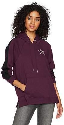 Volcom Women's My Future Pullover Hooded Fleece Sweatshirt