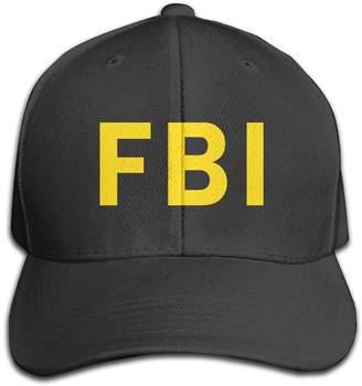 Jermily-caps FBI Federal Bureau Of Investigation Print Cap Hats Adjustable Baseball Cap
