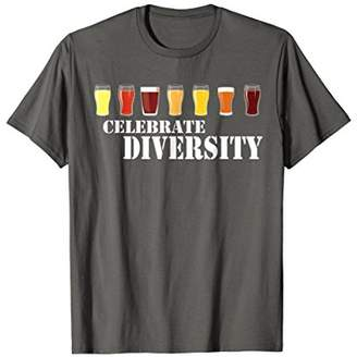 Celebrate Diversity Craft Beer T-Shirt