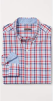 J.Mclaughlin Carnegie Classic Fit Shirt in Tattersall Check