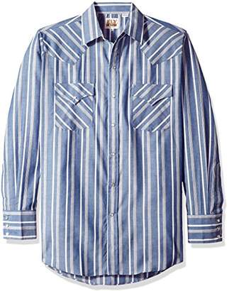 Ely & Walker Men's Long Sleeve Stripe Western Shirt