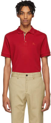 Burberry Red Core Polo