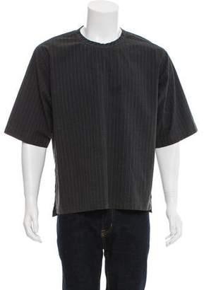 Dolce & Gabbana Striped Linen-Blend Shirt