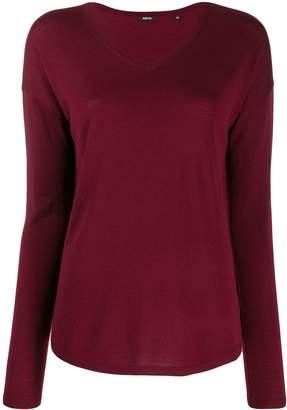 Aspesi v-neck knitted jumper