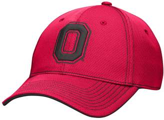 NCAA Kohl's Men's Ohio State Buckeyes Pin Point Flex Fitted Cap