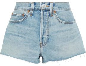 Levi's Re/Done By Distressed Denim Shorts