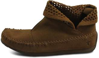 Emu Australia Brown Short Bootie $119 thestylecure.com