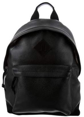 Tom Ford Suede-Trimmed Leather Backpack w/ Tags