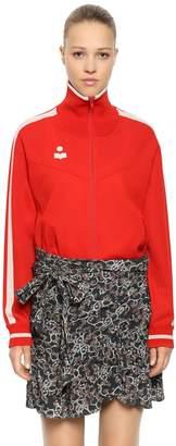 Etoile Isabel Marant Stretch Viscose Jersey Track Jacket