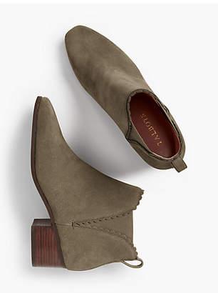 Talbots Dakota Scallop-Edge Ankle Boot