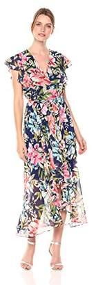 Eliza J Women's Floral Maxi Dress