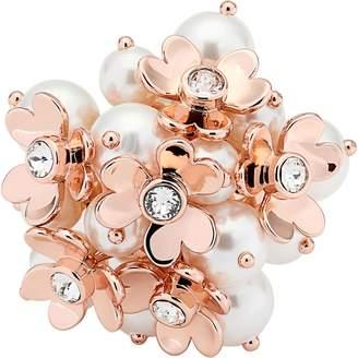 Ted Baker Haldis Heart Blossom Cocktail Ring