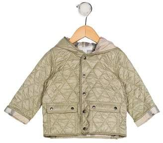 Burberry Girls' Quilted Puffer Jacket