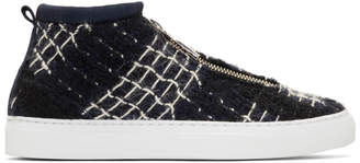 Diemme Navy Fontesi High-Top Sneakers