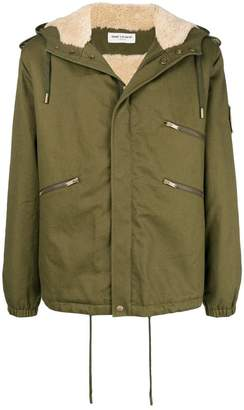Saint Laurent gabardine windbreaker jacket