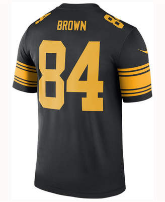 Nike Men's Antonio Brown Pittsburgh Steelers Legend Color Rush Jersey