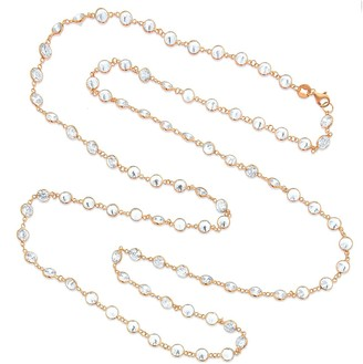 Swarovski Cosanuova Rose LG Long Necklace