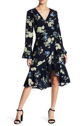 Lucy Paris Alexa Faux Wrap Dress