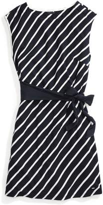 Tommy Hilfiger Stripe Wrap Dress