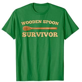 Awesome Wooden Spoon Survivor Humor T-shirt
