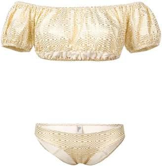 Lisa Marie Fernandez printed bikini