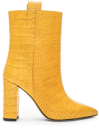 Paris Texas Ankle Boot in Yellow Croc | FWRD