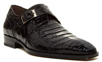Mezlan Gables Genuine Crocodile Monk Strap Shoe