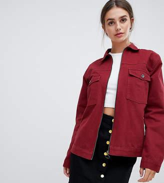 Kubban Tall Boxy Denim Jacket