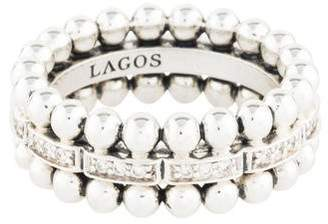 Lagos Diamond Caviar Spark Band