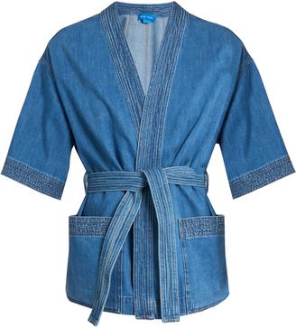 Finn kimono denim jacket