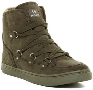 G by GUESS Otter Faux Fur Lined Sneaker $79 thestylecure.com