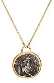 Eli Halili Women's Ancient Coin Pendant Necklace-Gold