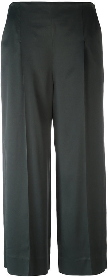 Chalayan Chalayan cropped wide-legged trousers