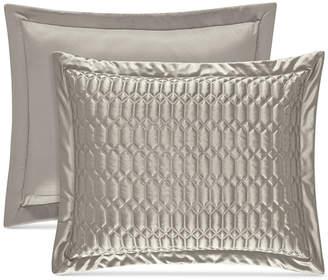 J Queen New York Satinique Quilted Standard Sham Bedding