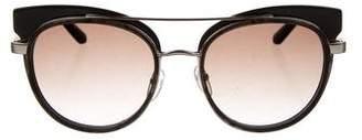 Etro Round Tinted Sunglasses