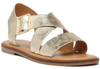 Franco Sarto Kara Metallic Buckle Sandal