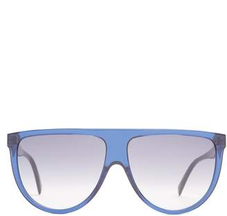Celine Shadow aviator D-frame acetate sunglasses