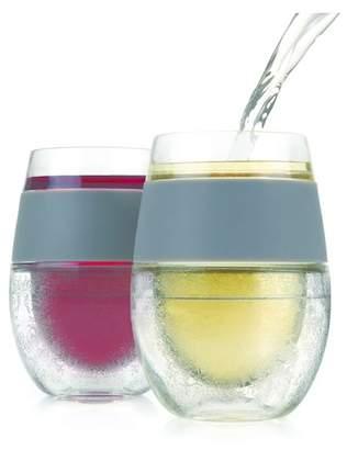 True Fabrications Freeze Cooling 8.5 oz. Wine Glass - Set of 2