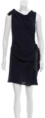 Nina Ricci Bow-Accented Sleeveless Dress